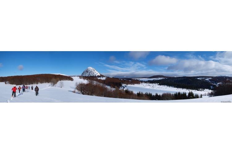 Noël Rando Raquettes massif du Mezenc