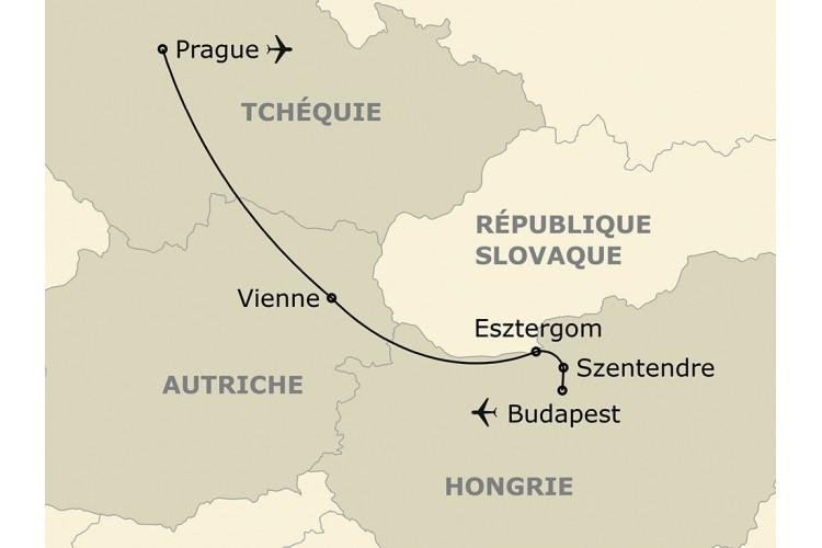 Découverte de l'Europe du Centre