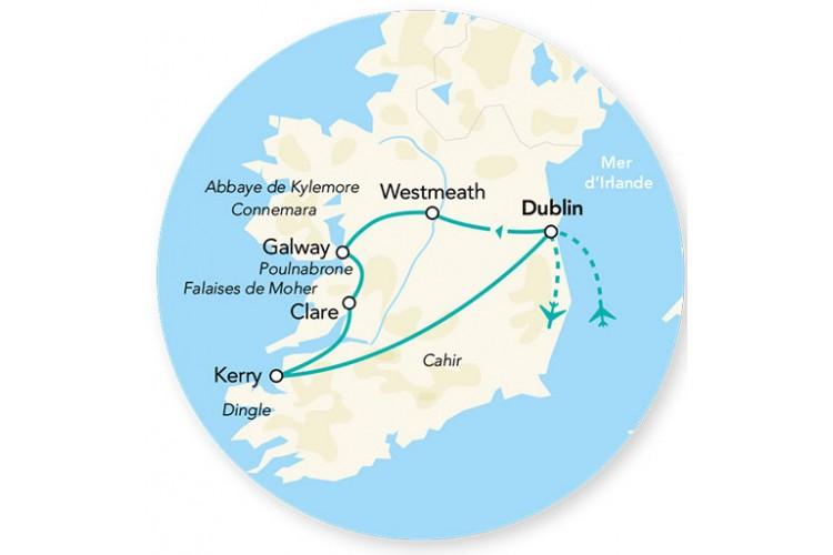 Découverte de l'Irlande