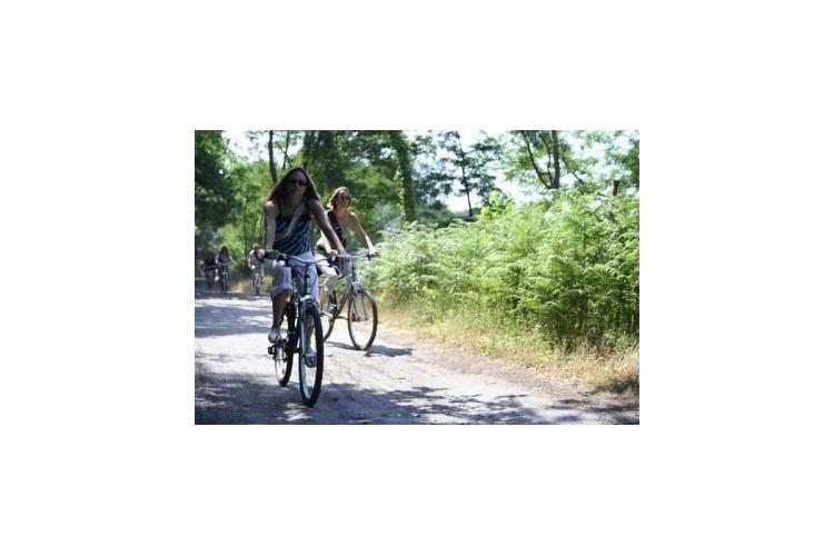 balade à vélo (vélo fourni)