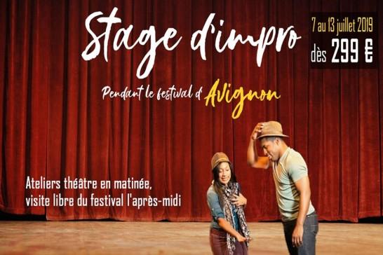 Festival d'Avignon - Stage de Théâtre