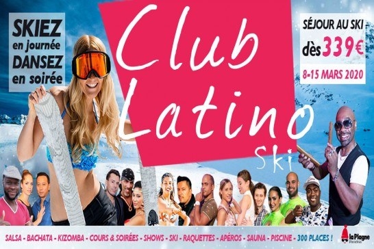 Club Latino Ski - La Plagne