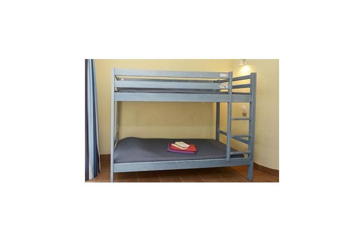 chambre 1 ou 2 personnes avec lits superposés