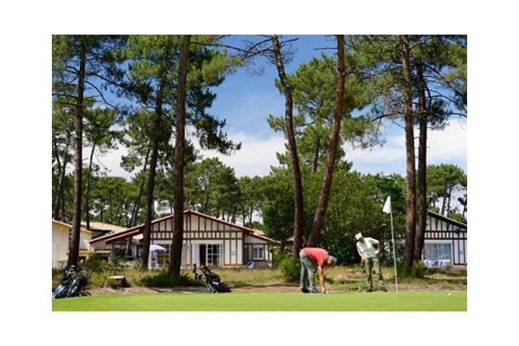 résidence située au coeur du golf