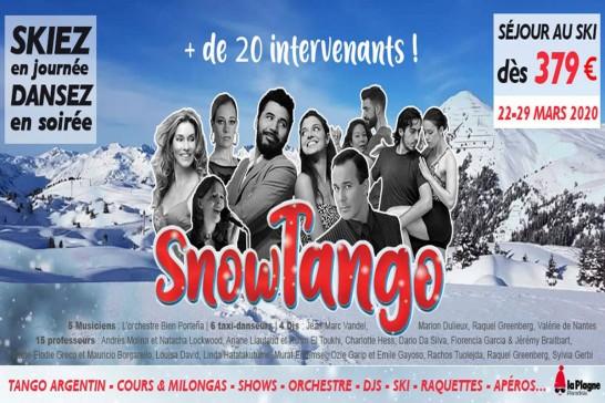 Snow Tango - La Plagne